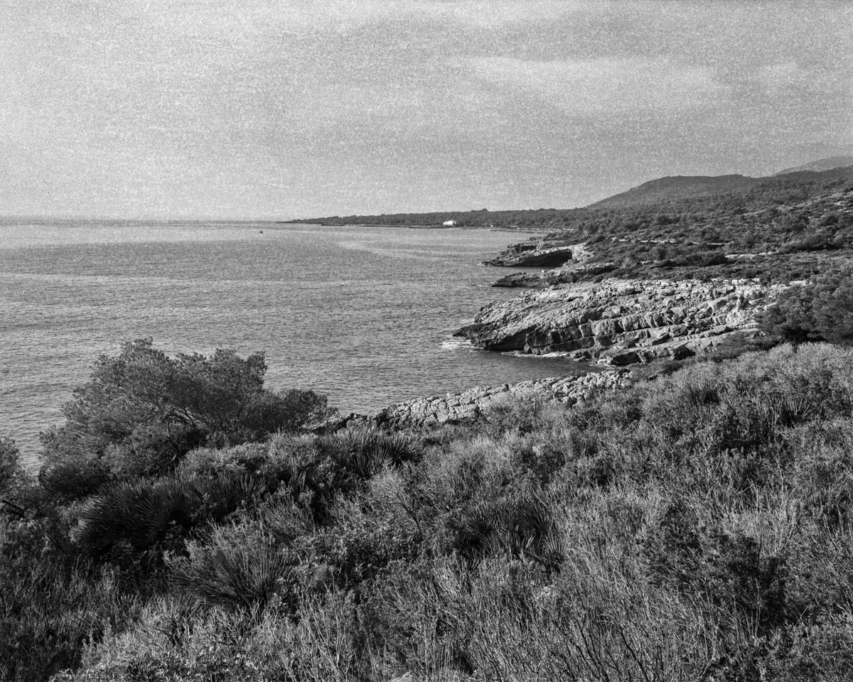 Irta desde la Torra - Les Casetes de Volta del Baix Maestrat - LLUIS IBAÑEZ MELIA, Geografies als Ports Maestrat