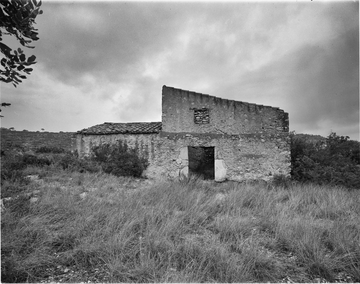 Irta. Caseta de volta vora Les Fonts - Les Casetes de Volta del Baix Maestrat - LLUIS IBAÑEZ MELIA, Geografies als Ports Maestrat