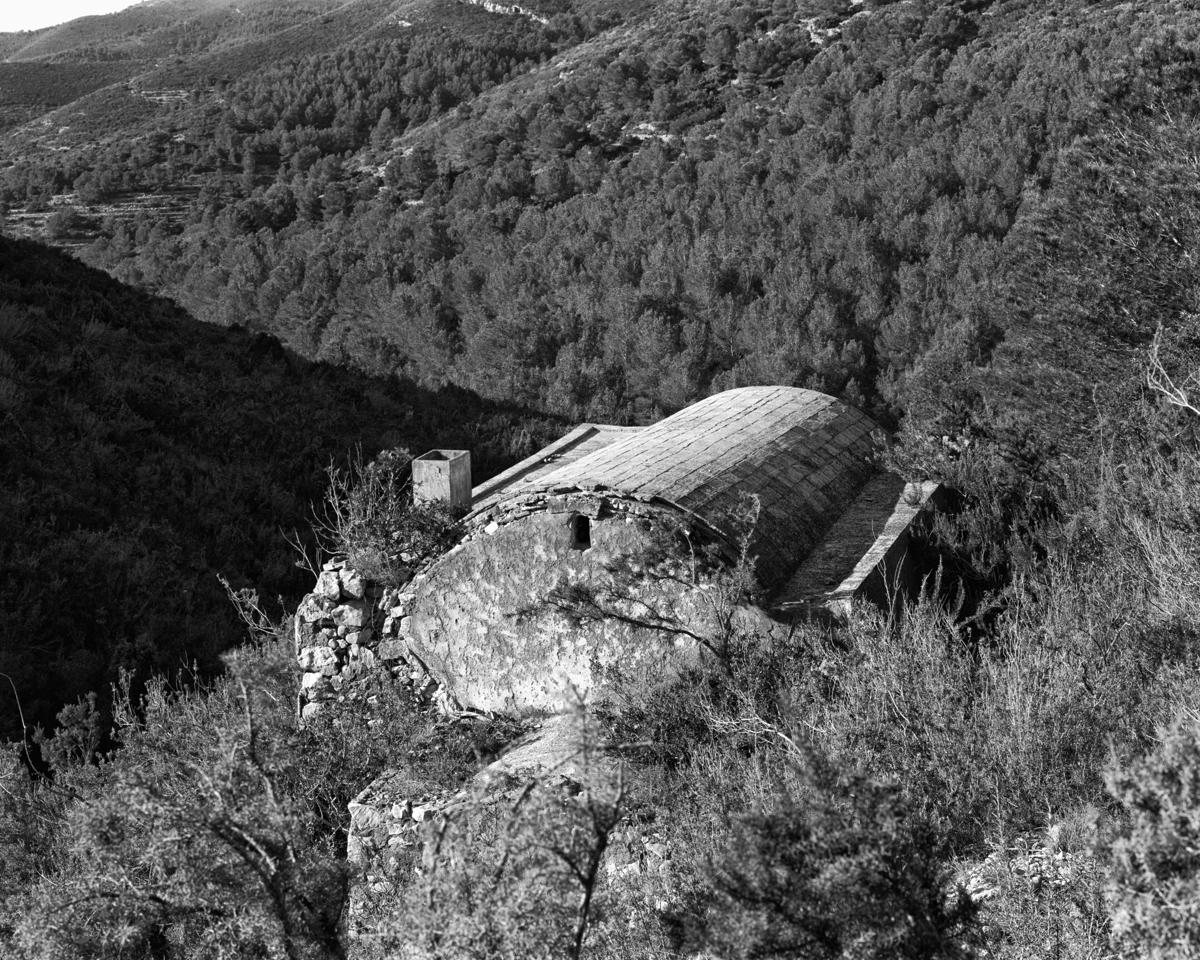 Irta. Caseta de volta a la Mala entrà - Les Casetes de Volta del Baix Maestrat - LLUIS IBAÑEZ MELIA, Geografies als Ports Maestrat