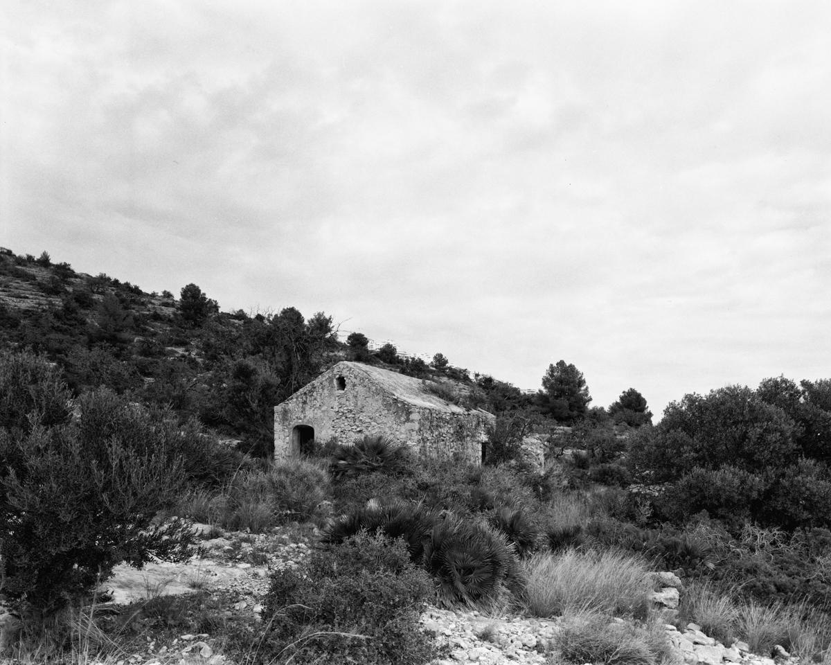 Irta. Caseta de Volta nº 3 vora la Capelleta de St Antoni  - Les Casetes de Volta del Baix Maestrat - LLUIS IBAÑEZ MELIA, Geografies als Ports Maestrat