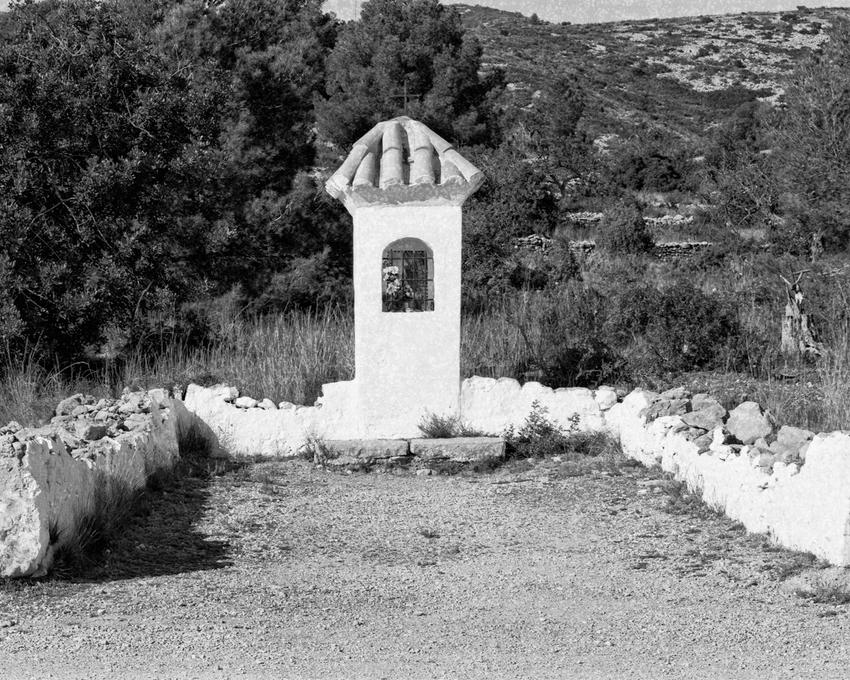 Irta. Capelleta St Antoni - Les Casetes de Volta del Baix Maestrat - LLUIS IBAÑEZ MELIA, Geografies als Ports Maestrat