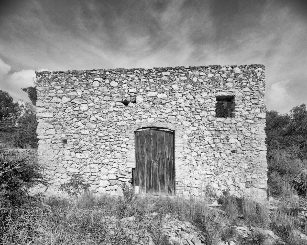 Caseta nº 3  vora el Mas del Senyor   - Habitatges temporals a Irta - LLUIS IBAÑEZ MELIA, Geografies als Ports Maestrat
