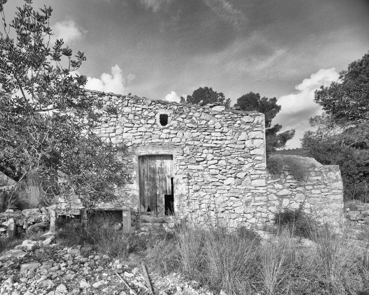 Caseta nº 1 vora el Mas del Senyor   - Habitatges temporals a Irta - LLUIS IBAÑEZ MELIA, Geografies als Ports Maestrat
