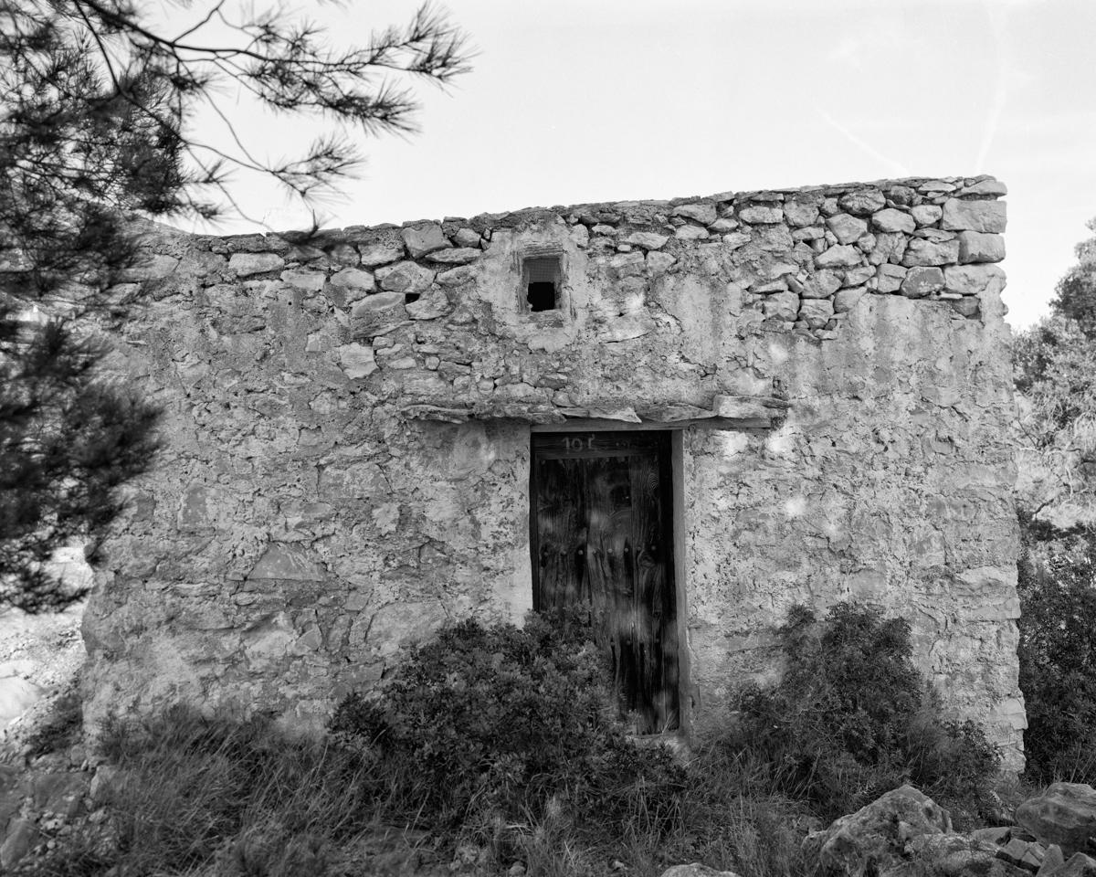 Caseta nº 1 vora la Font Nova  - Habitatges temporals a Irta - LLUIS IBAÑEZ MELIA, Geografies als Ports Maestrat