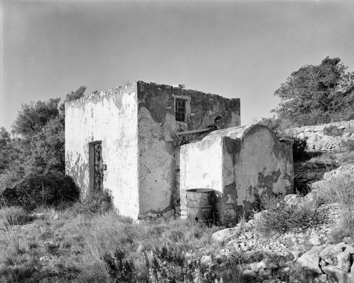Caseta vora Capelleta de Sant Antoni  - Habitatges temporals a Irta - LLUIS IBAÑEZ MELIA, Geografies als Ports Maestrat