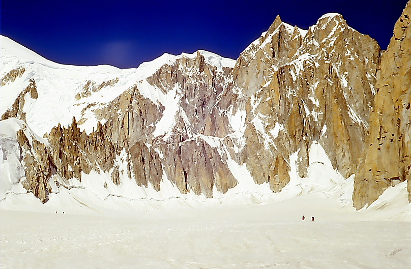 Luces de montaña - fotografías de montañas