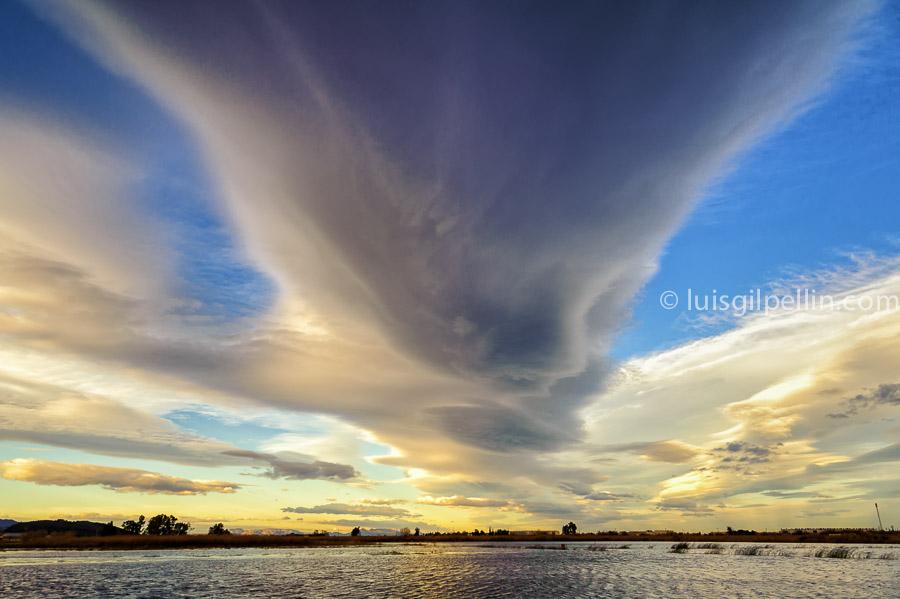 Cielo en la marjal  - Buscando la luz - Luis Antonio Gil  Pellín , Fotografia de naturaleza