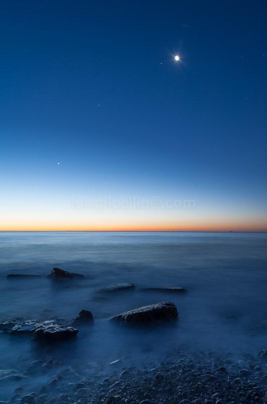 Mañana azul - Buscando la luz - Luis Antonio Gil  Pellín , Fotografia de naturaleza