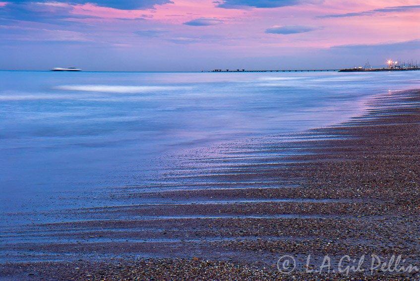 Costa de Sagunto - Buscando la luz - Luis Antonio Gil  Pellín , Fotografia de naturaleza