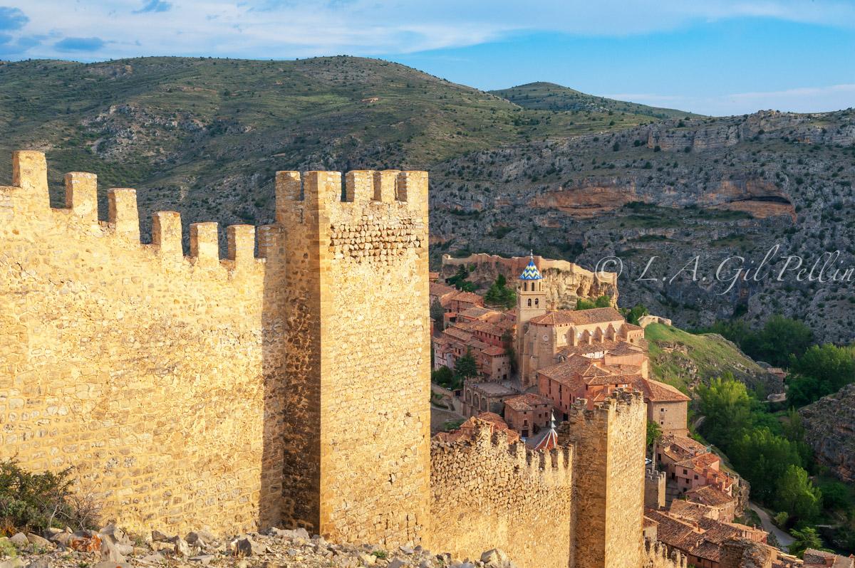 Desde las murallas - Sierra de Albarracín - Luis Antonio Gil  Pellín , Fotografia de naturaleza