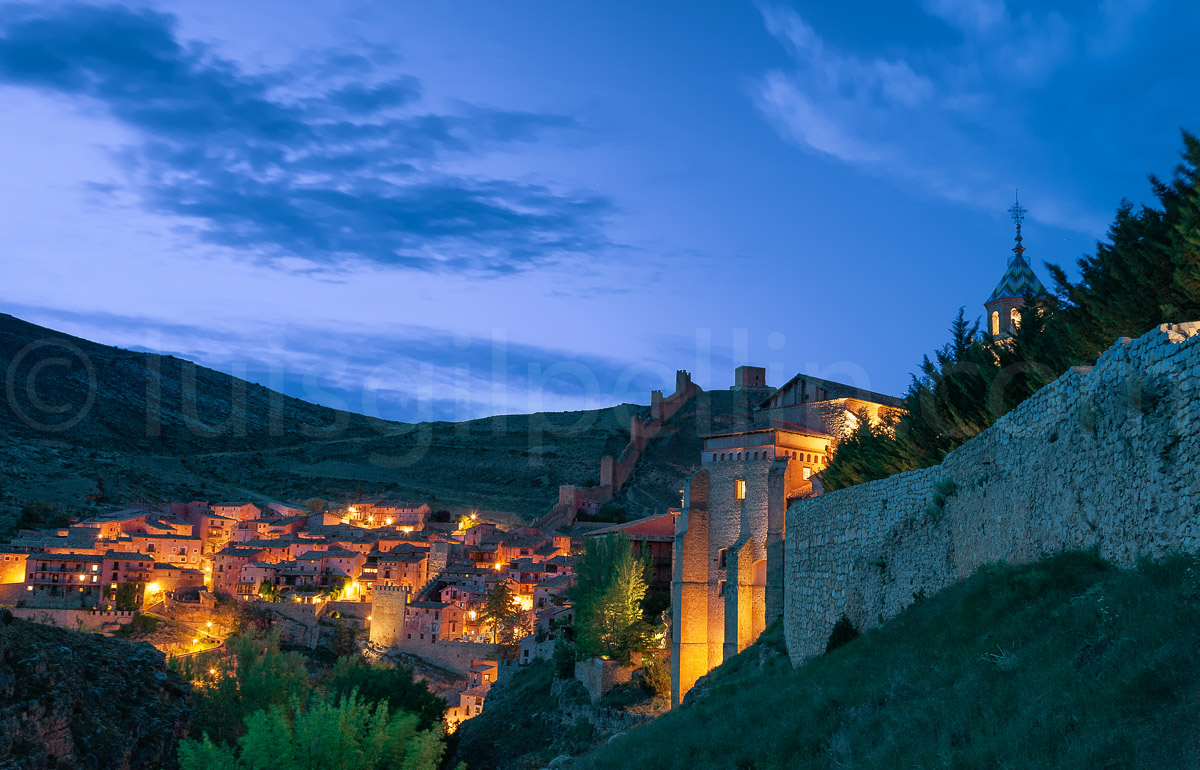Albarracín nocturna - Sierra de Albarracín - Luis Antonio Gil  Pellín , Fotografia de naturaleza