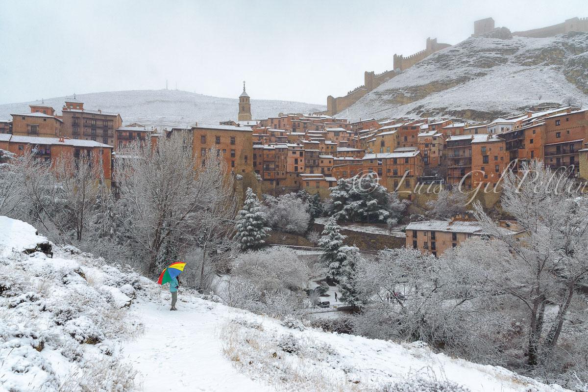 Nieva en Albarracín - Sierra de Albarracín - Luis Antonio Gil  Pellín , Fotografia de naturaleza