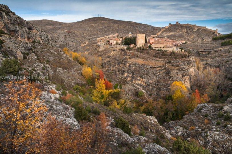 Albarracín otoñal - Sierra de Albarracín - Luis Antonio Gil  Pellín , Fotografia de naturaleza