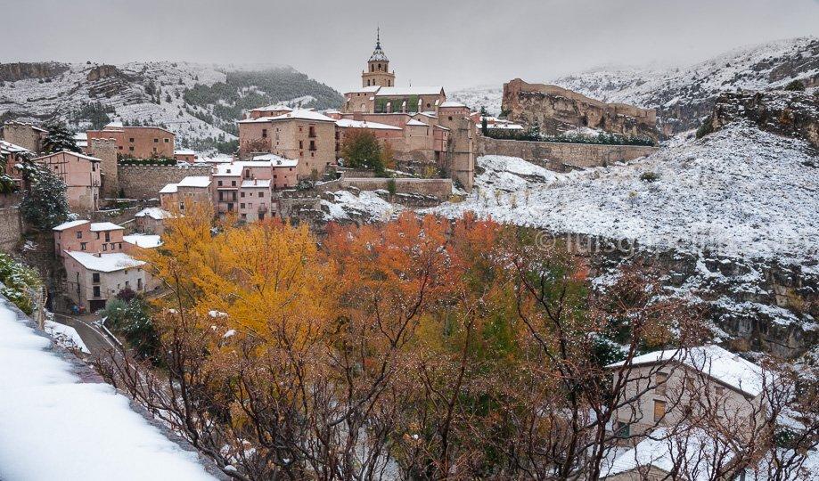 Albarracín nevado - Sierra de Albarracín - Luis Antonio Gil  Pellín , Fotografia de naturaleza