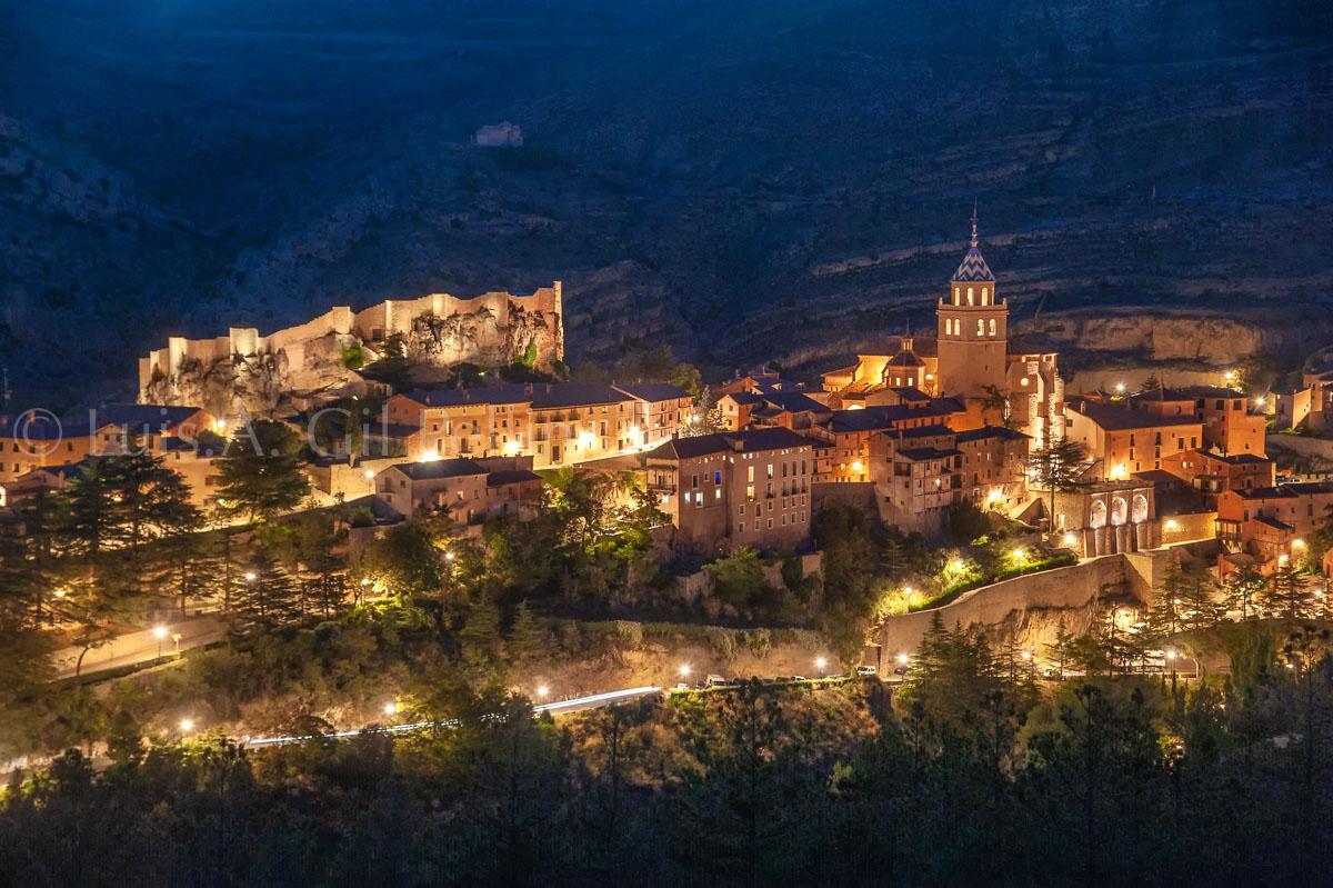 Nocturna Albarracín - Sierra de Albarracín - Luis Antonio Gil  Pellín , Fotografia de naturaleza