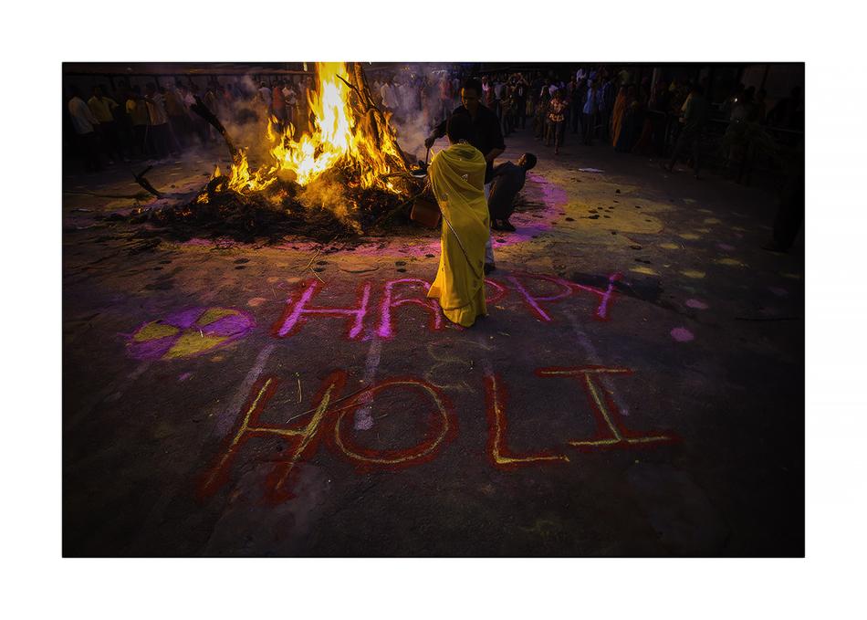 Festival de Holika - MVilches , Fotográfia