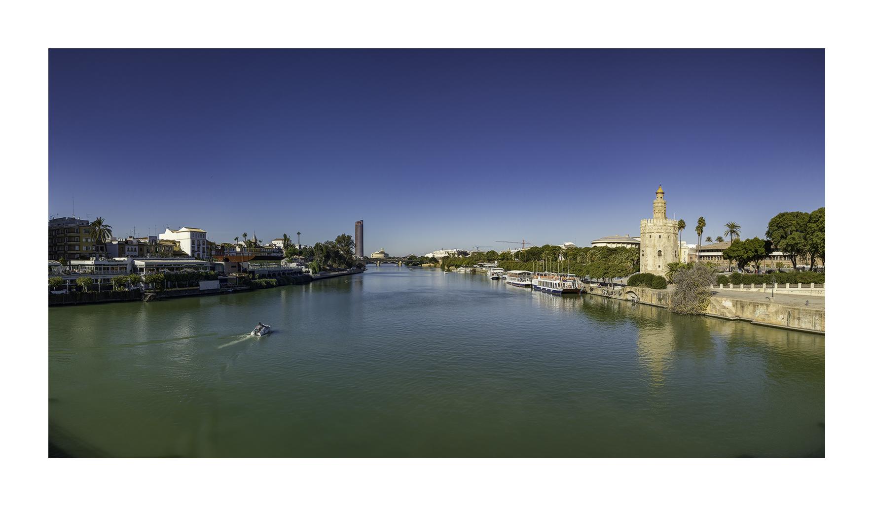 Sevilla y el Guadalquivir. - Panorámicas de España - MVilches , Fotográfia