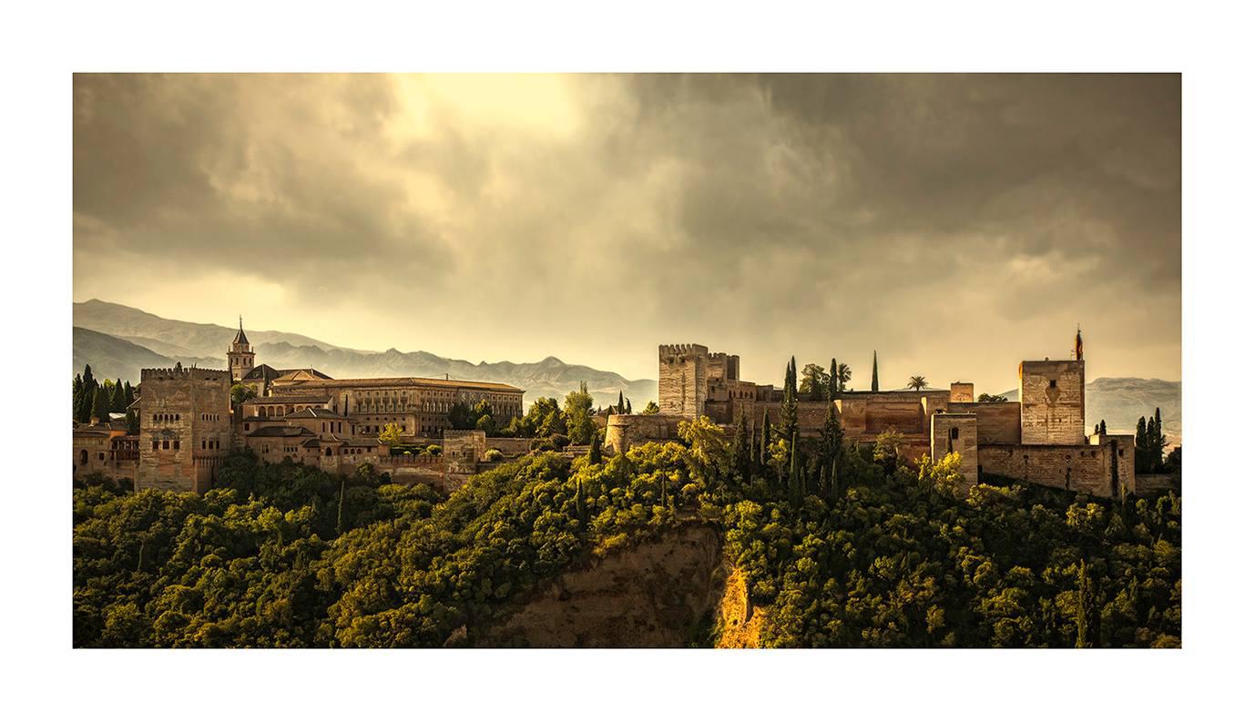 Alhambra de Granada. - Panorámicas de España - MVilches , Fotográfia