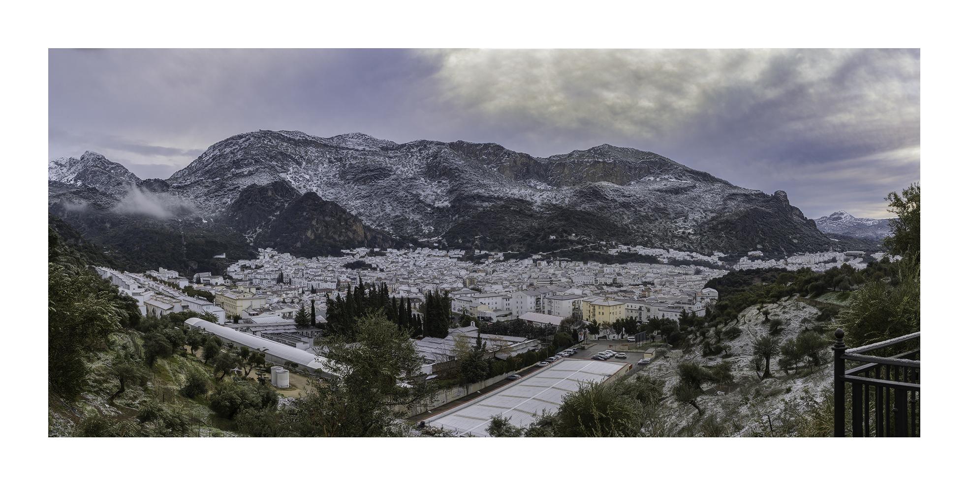 Nevada en Ubrique 2017 - Panorámicas de España - MVilches , Fotográfia