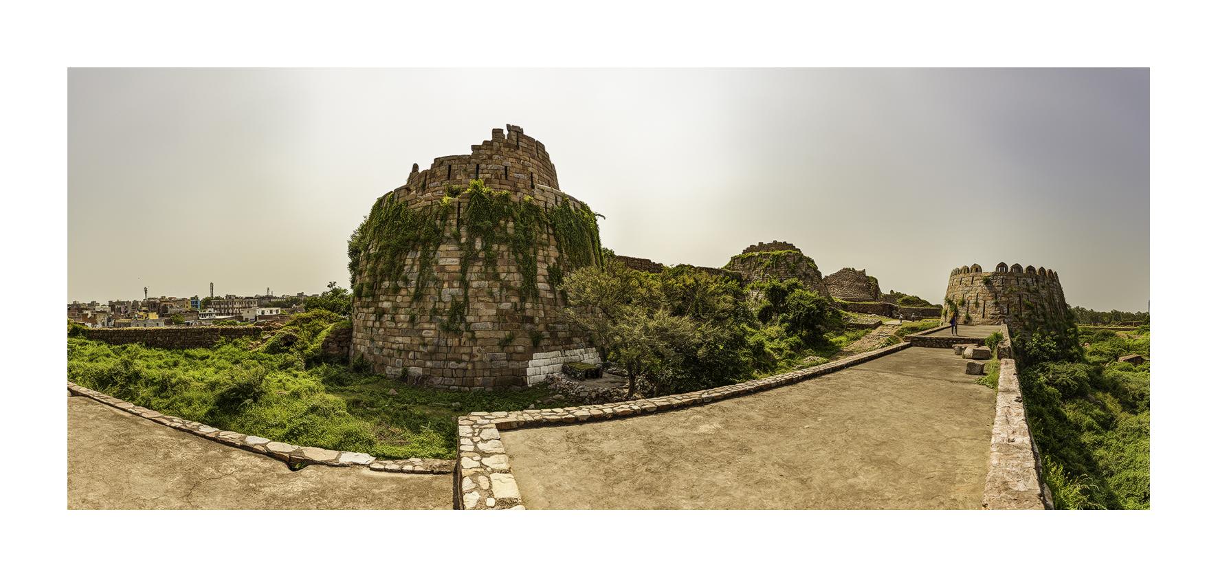Fuerte en ruinas, Nueva Delhi - Panorámicas de India - MVilches , Fotográfia