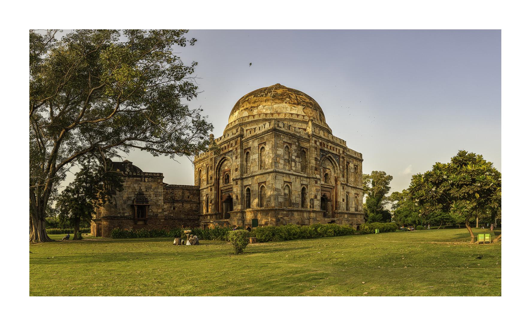 Lodi Garden, Nueva Delhi - Panorámicas de India - MVilches , Fotográfia