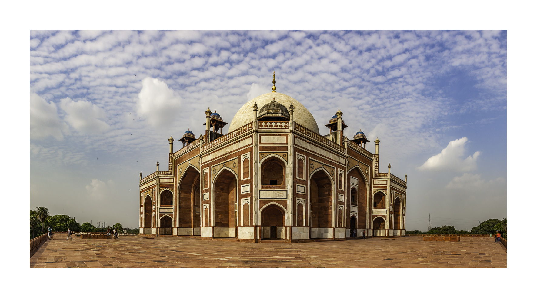 Tumba de Humayun´s, Nueva Delhi - Panorámicas de India - MVilches , Fotográfia