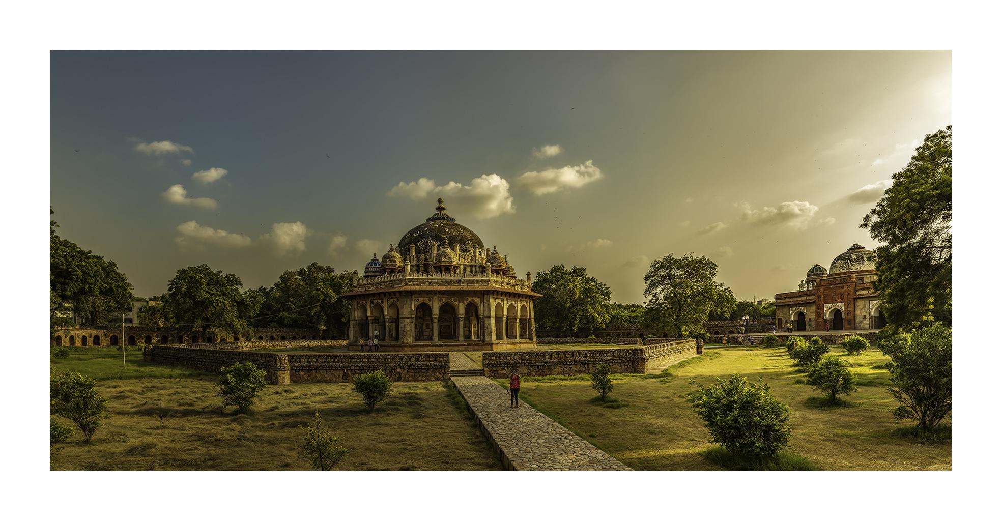 Tumba de Isa Khan´s, Nueva Delhi - Panorámicas de India - MVilches , Fotográfia