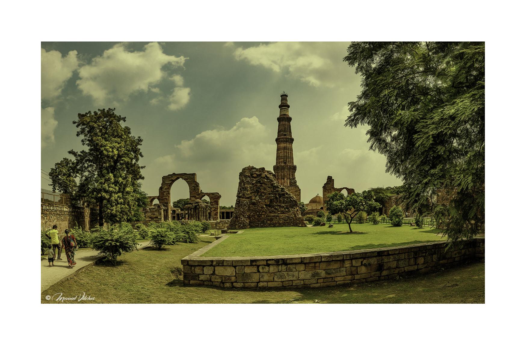 Qutub Minar, Nueva Delhi - Panorámicas de India - MVilches , Fotográfia
