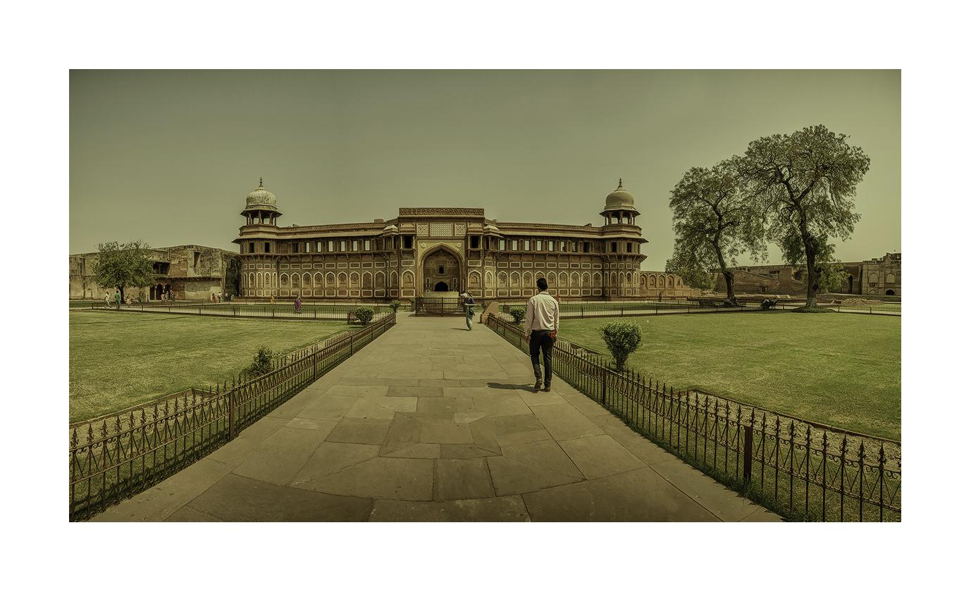 Agra, Fuerte Rojo - Panorámicas de India - MVilches , Fotográfia