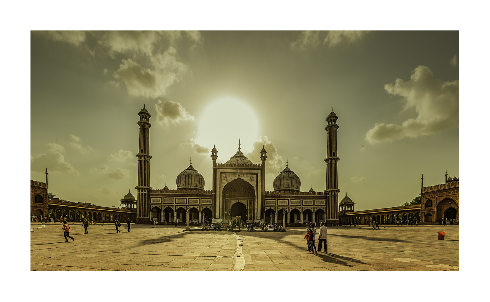 Jama Masjid, Nueva Delhi - Panorámicas de India - MVilches , Fotográfia