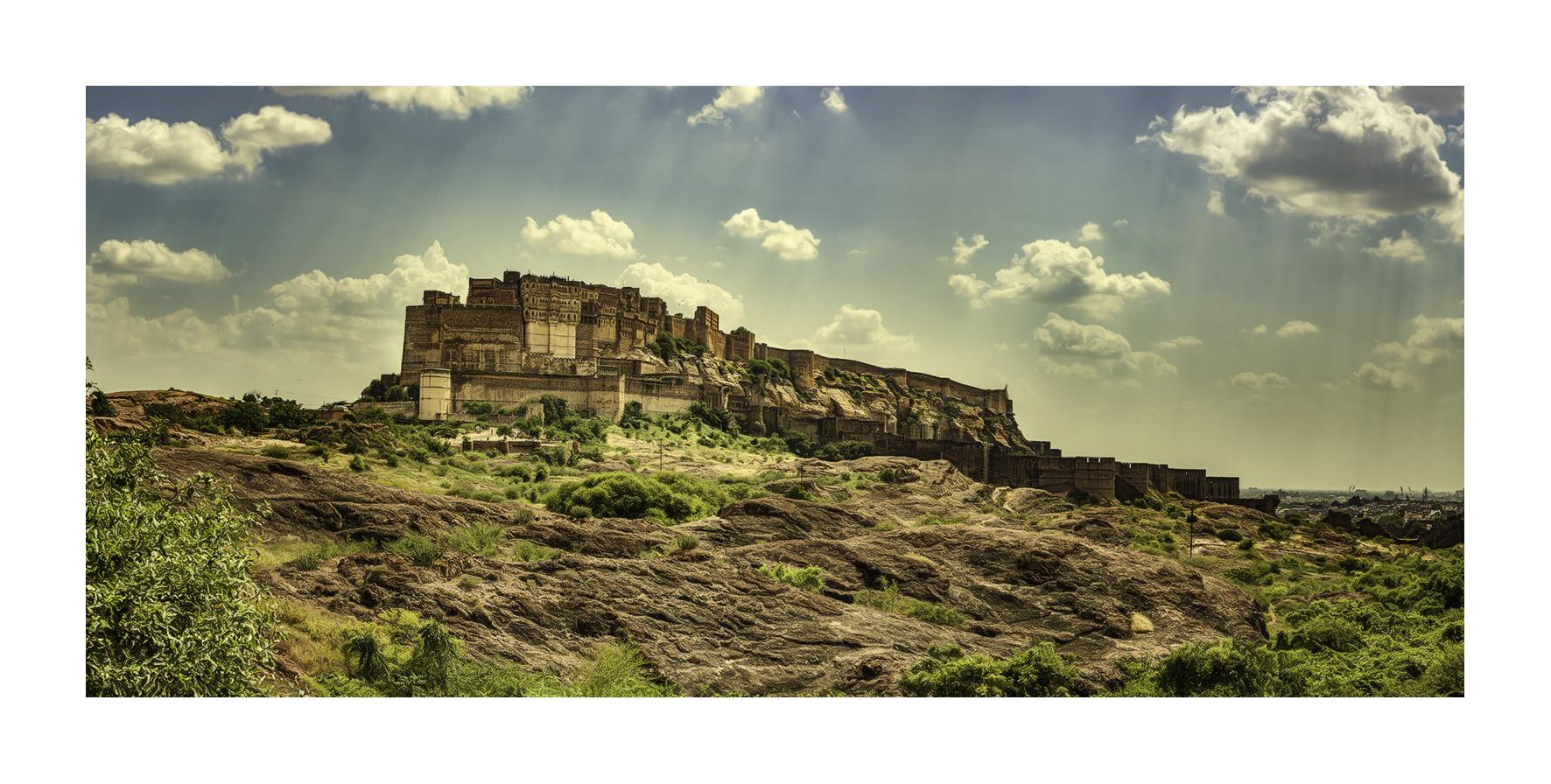 Mehrangarh de Jodhpur - Panorámicas de India - MVilches , Fotográfia