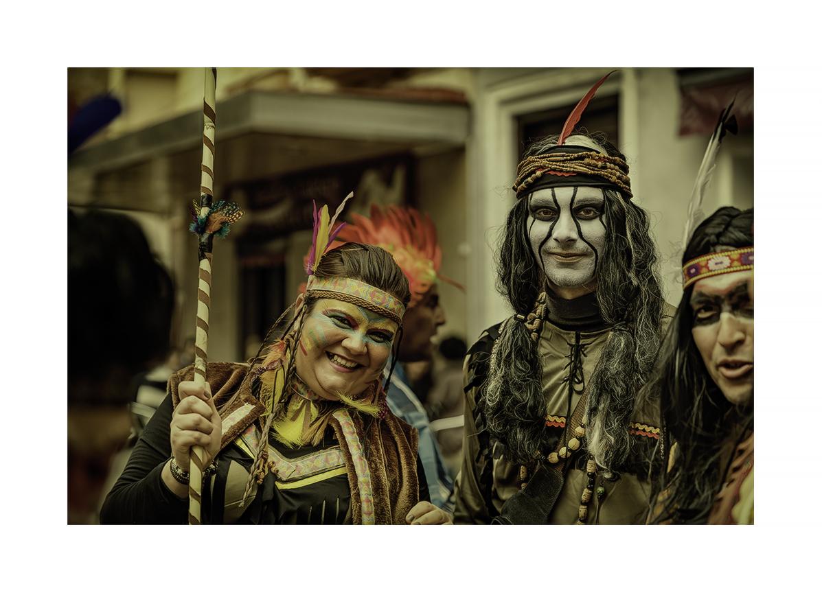 Retratos del Carnaval 1º Entrega - MVilches , Fotográfia