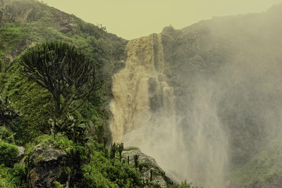 Cascada, Etiopía - Paisajes - MVilches , Fotográfia