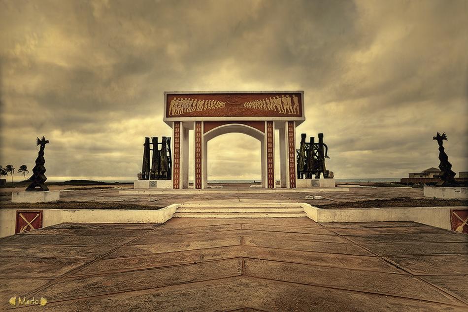 La puerta del no retorno, Benín - Paisajes - MVilches , Fotográfia