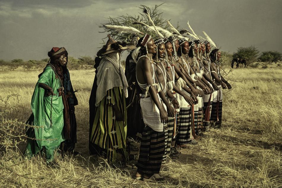 El grupo - Etnia Bororo, Níger - MVilches , Fotográfia