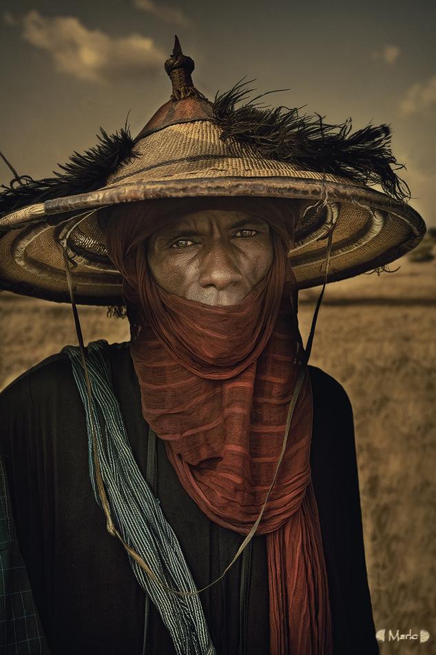 Jefe Bororo - Etnia Bororo, Níger - MVilches , Fotográfia