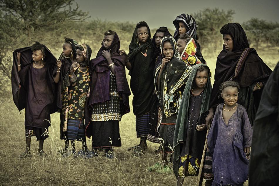 Niños Bororos - Etnia Bororo, Níger - MVilches , Fotográfia