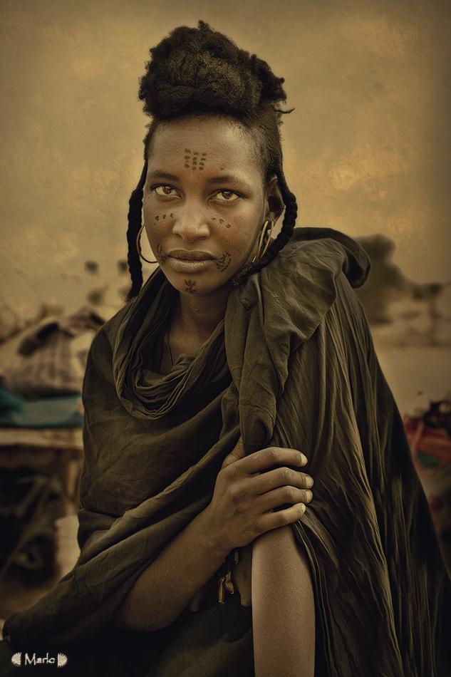 Mujer Bororo - Etnia Bororo, Níger - MVilches , Fotográfia