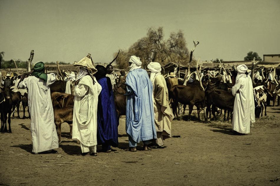 El mercado - Etnia Bororo, Níger - MVilches , Fotográfia