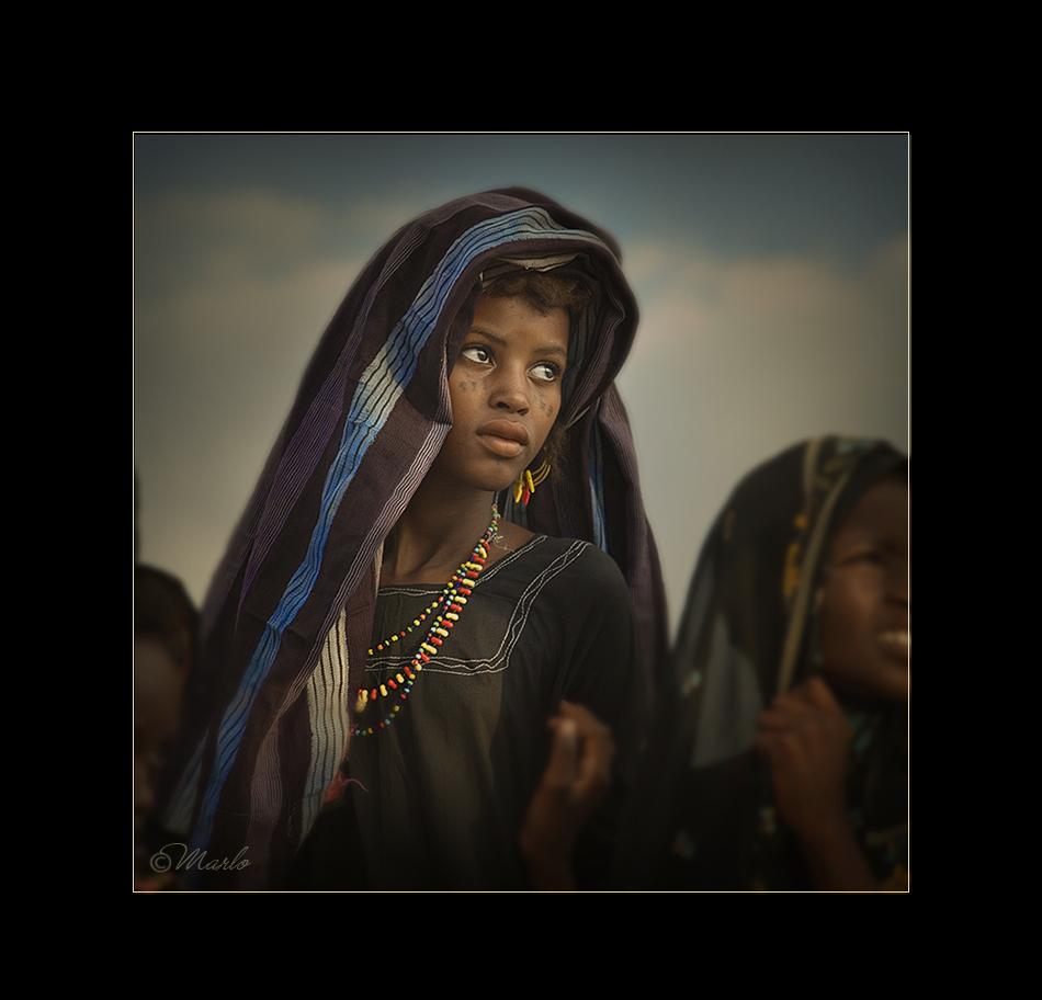 Luz en su mirada - Etnia Bororo, Níger - MVilches , Fotográfia