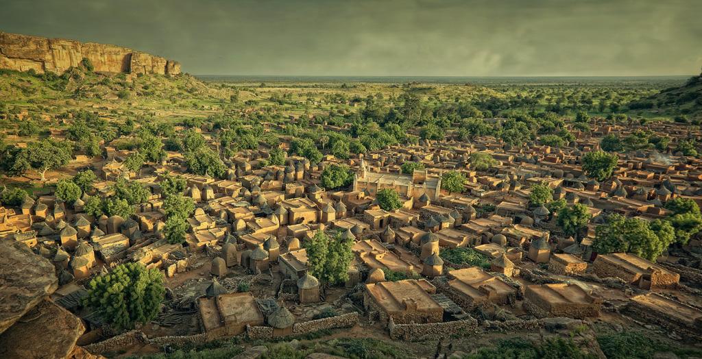 Vista de Songho - País Dogón, Malí - MVilches , Fotográfia
