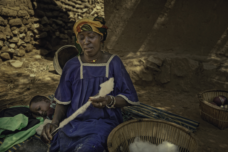 Mama de Musa - País Dogón, Malí - MVilches , Fotográfia