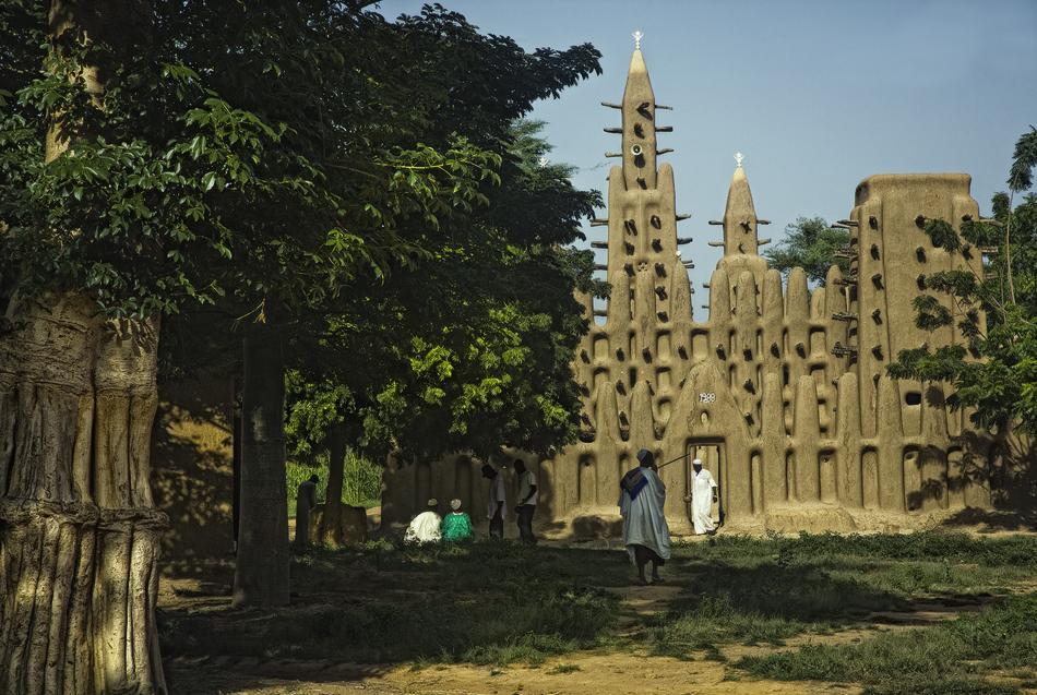 Mezquita de Kani-Kombolé - País Dogón, Malí - MVilches , Fotográfia