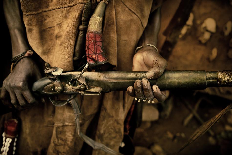 La escopeta de León - País Dogón, Malí - MVilches , Fotográfia