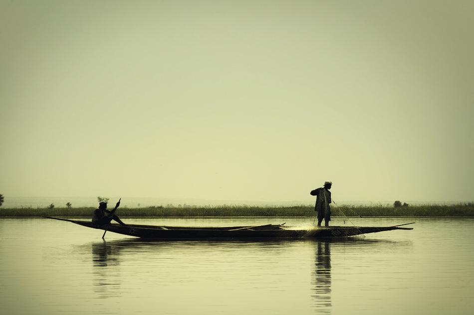 Pescadores Bozo - El río - MVilches , Fotográfia