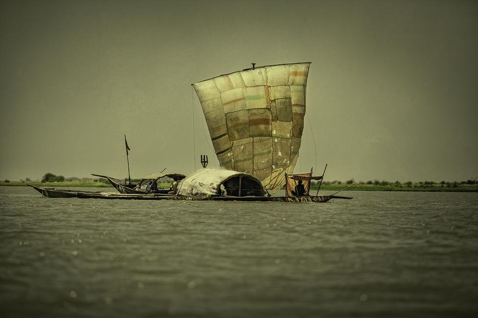 La unión hace pesca - El río - MVilches , Fotográfia