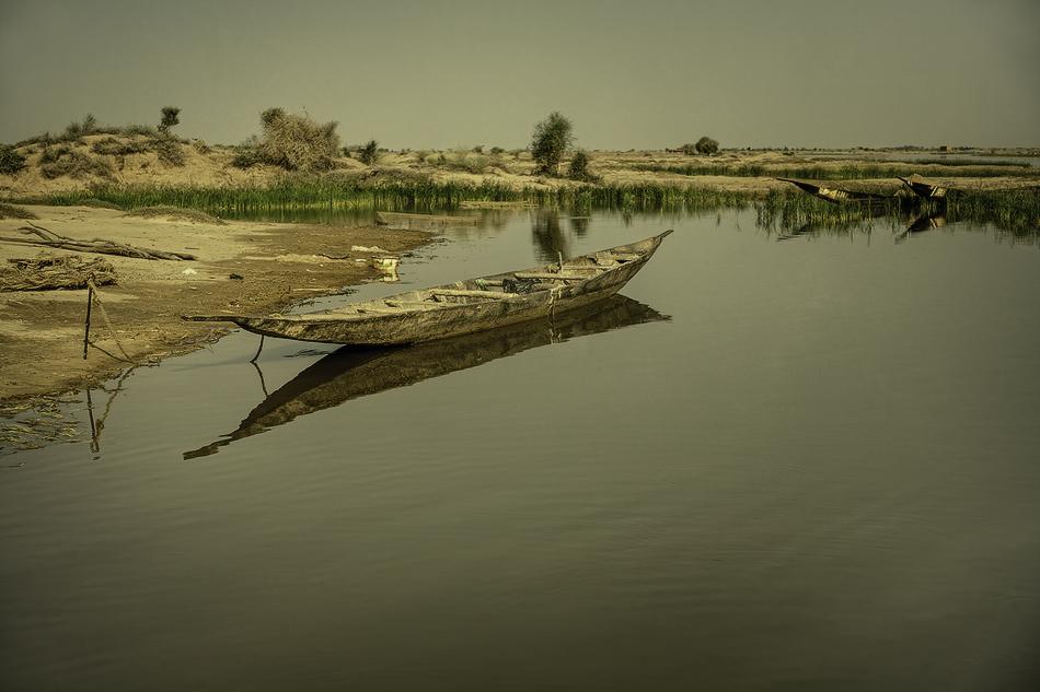 Pinaza - El río - MVilches , Fotográfia