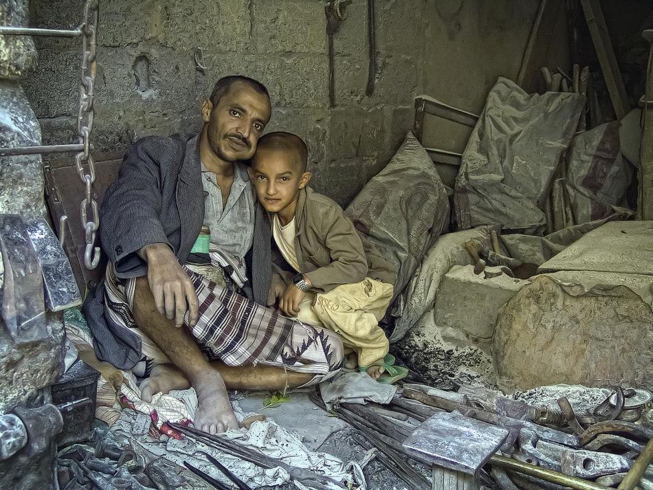 Herrero de Al Mahwit - Yemen - MVilches , Fotográfia