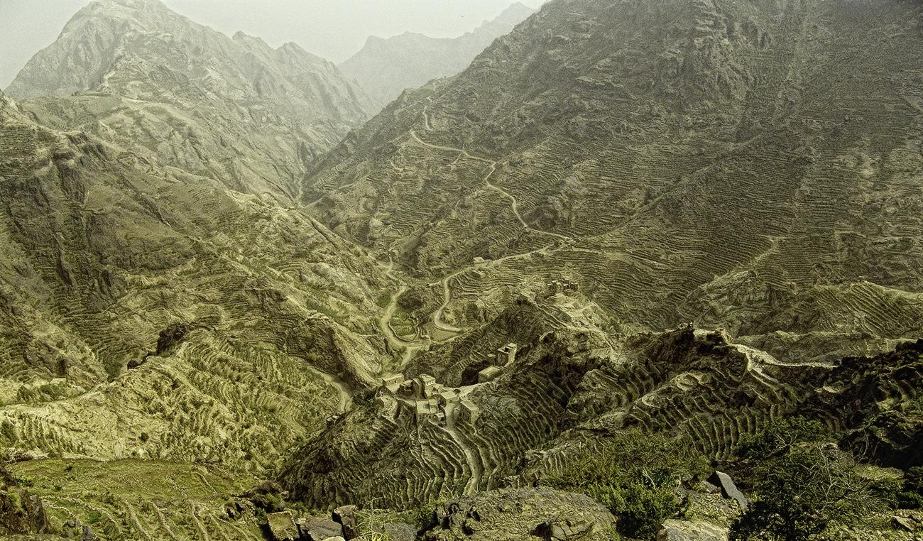 Subida a Shahara - Yemen - MVilches , Fotográfia