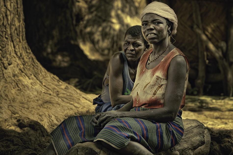Mujeres Mossi, Bantogdo. - Burkina Faso - MVilches , Fotográfia